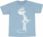 Diary of a Wimpy Kid Snorkel Youth T Shirt
