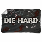 Die Hard Broken Glass Fleece Blanket