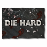 Die Hard Broken Glass Pillow Case