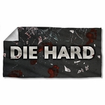Die Hard Broken Glass Towel