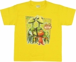 Dinosaur Train Group Juvenile T-Shirt