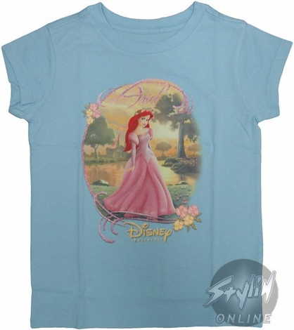 Disney Ariel Girl Youth T-Shirt