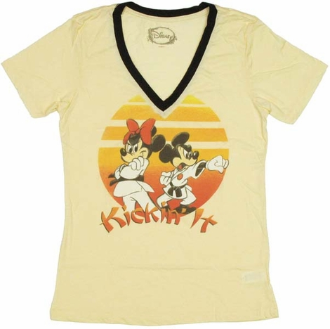 Disney Kickin It Ladies Tee