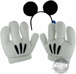 Disney Mickey Ears Gloves Combo