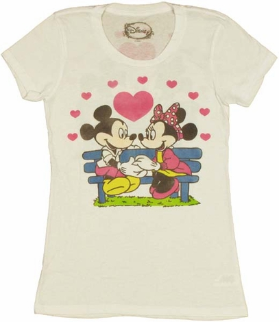 Disney Mickey Minnie Baby Tee