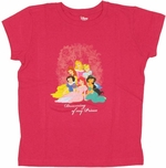 Disney Princess Dreaming Youth T Shirt