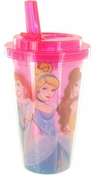 Disney Princess Trio Flip Straw Travel Cup