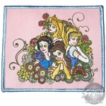 Disney Princesses Flowers Patch