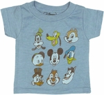 Disney Vintage Heads Infant T Shirt