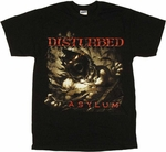 Disturbed Asylum T Shirt
