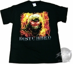 Disturbed Fiery T-Shirt