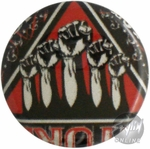 Disturbed Fists Button