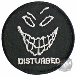Disturbed Round Grin Patch