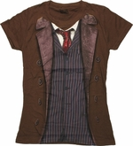 Doctor Who 10th Doctor Costume Baby Tee