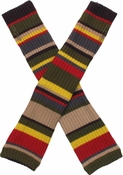 Doctor Who 4th Doctor Arm Warmers Fingerless Gloves