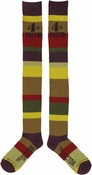 Doctor Who 4th Doctor Ladies OTK Socks