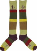 Doctor Who 4th Doctor Mens Knee High Socks
