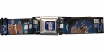 Doctor Who Angels Have the Phone Box Seatbelt Mesh Belt
