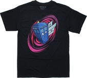 Doctor Who Bigger Inside Swirl T Shirt