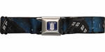 Doctor Who Black Tardis Seatbelt Mesh Belt