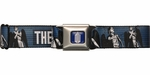 Doctor Who Cartoon Weeping Angels Seatbelt Mesh Belt