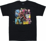 Doctor Who Comic Doctor T Shirt