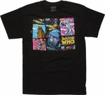 Doctor Who Comic Villains T Shirt