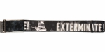 Doctor Who Dalek Exterminate Black Mesh Belt