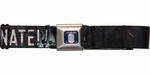 Doctor Who Dalek Exterminate Black Seatbelt Mesh Belt