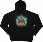 Doctor Who Dalek Poster Pullover Hoodie