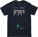 Doctor Who Dalek Space Invader T Shirt