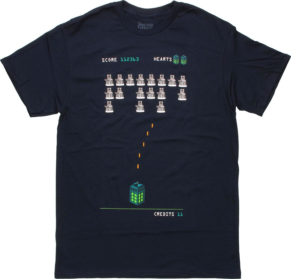 ... > Sci-Fi > Doctor Who > Doctor Who Dalek Space Invader T Shirt