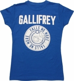 Doctor Who Gallifrey Falls No More Baby Tee