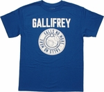 Doctor Who Gallifrey Falls No More T Shirt