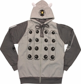Doctor Who Gray Dalek Costume Hoodie