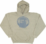Doctor Who Inside Counts Hoodie