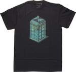 Doctor Who Isometric TARDIS T Shirt