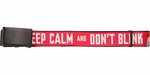 Doctor Who Keep Calm and Don't Blink Mesh Belt