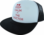 Doctor Who Keep Calm I'm the Doctor Trucker Hat