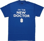 Doctor Who New Doctor Royal Blue T Shirt