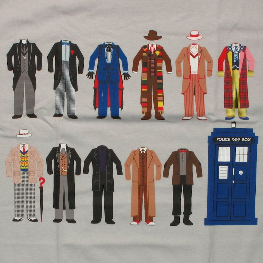 Doctor Who Outfits T Shirt