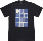 Doctor Who Profile Grid T Shirt