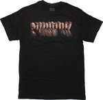 Doctor Who Profile Line Up T Shirt
