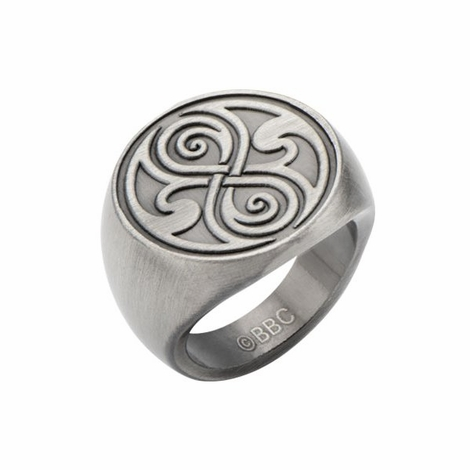 Doctor Who Rassilon Seal Ring