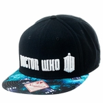 Doctor Who Space Visor Snapback Hat