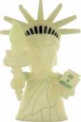 Doctor Who Statue of Liberty Weeping Angel 8 Inch Glow Vinyl Figurine