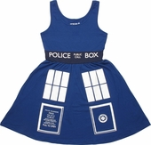 Doctor Who TARDIS A Line Dress