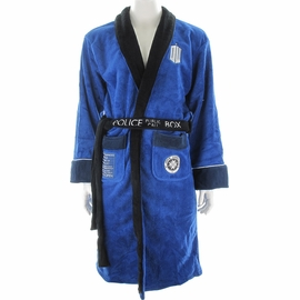 Doctor Who TARDIS Back Fleece Robe