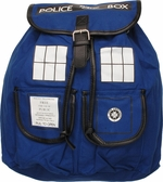 Doctor Who TARDIS Flap Top Backpack