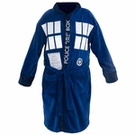 Doctor Who TARDIS Fleece Robe